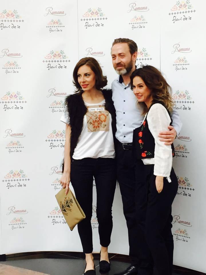 Eli Roman, Amedeo Ene şi Rosianu Andreea la Flori de IE.