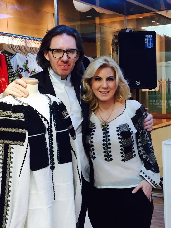 Cristina Chiriac împreună cu Maestrul Nicolae Voiculet